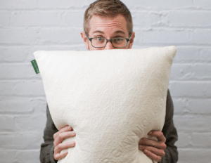 organic green pillow