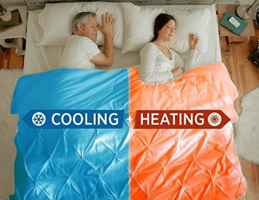 cooling blanket for couples