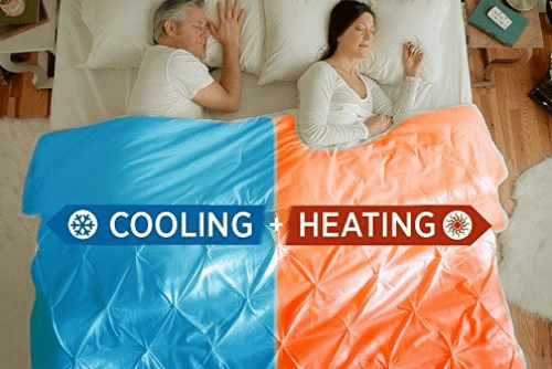 cooling blanket, heating blanket