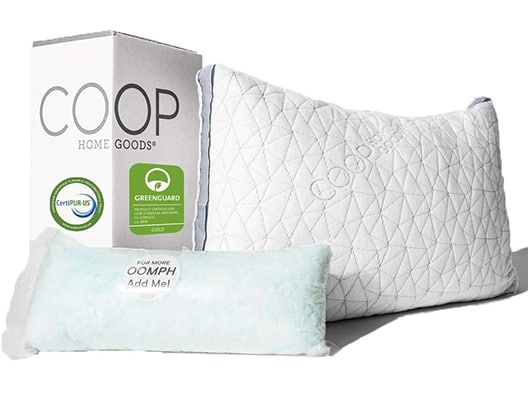 best adjustable memory foam pillow